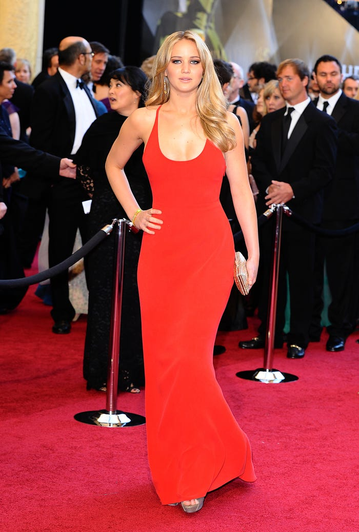 Jennifer Lawrence at the 83rd Academy Awards 2011