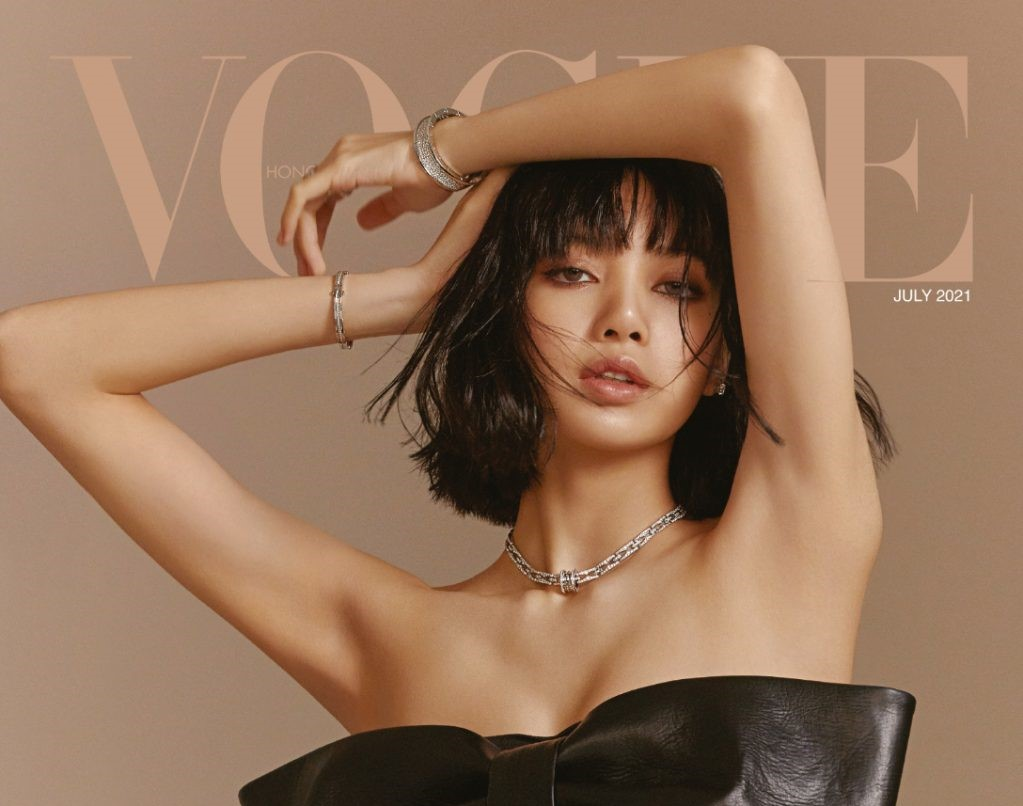 BLACKPINK Lisa's Shocked Sexy on Vogue Hong Kong's July Issue
